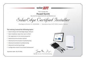 SEI zonnestroom - SolarEdge