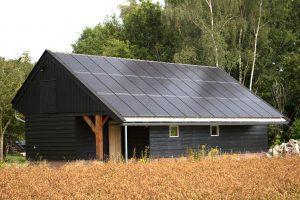 SolarWatt glas-glas zonnepaneel