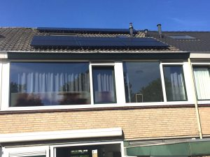 SolarEdge omvormer bij zonnepanelen