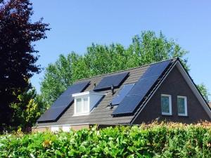 Zonnepanelen geplaatst in Meppel Zonnestroom geplaatst in Steenwijk Zwolle