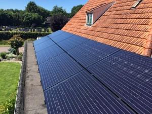 zonnepanelen Glas-Glas Boijl Meppel Steenwijk Zwolle op plat dak