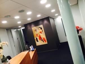 led downlighters in Zwolle bij tandarts geplaatst.