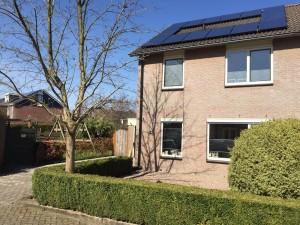 Solarwatt 60P Style in Vledder - Friesland geplaatst. Solarwatt Glas-Glas zonnepanelen Steenwijk, Meppel en Zwolle