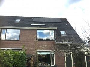 Vanuit Meppel en Steenwijk een SolarEdge 4000 omvormer + P300 optimizers geplaatst in Havelte, Nijeveen en steenwijk