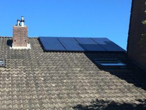 Solaredge omvormer ivm schaduweffecten.