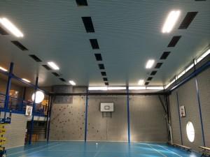 led lijnverlichting Greijdanus in Zwolle