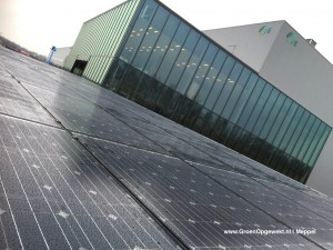 Zonnepanelen Solarwatt Glas Glas Zonnerijwielstalling Venlo