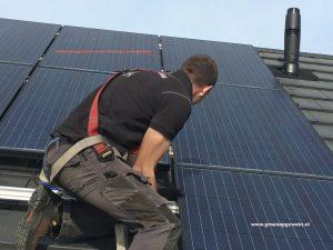 Montage verdampingspanelen onder zonnepanelen Meppel en De Wijk