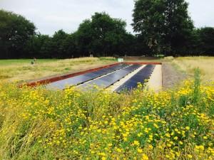 Solarwatt zonnepanelen Primeur in Nederland! Onder het maaiveld. Uniek in Nederland.