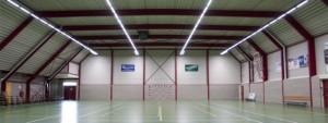 led lijnverlichting sporthal