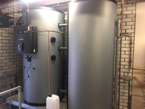 2 x 1000 liter boilervat