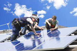 montage zonnepanelen